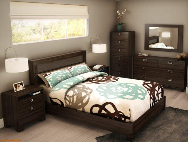 красивая маленькая спальня