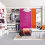 дизайн спальни с гаредробом