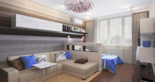 Как совместить спальню и гостиную в одной комнате