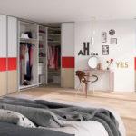 комната-гардероб в спальне