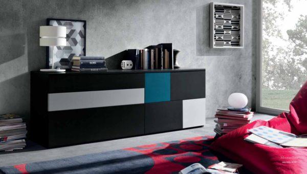 современный комод в спальне