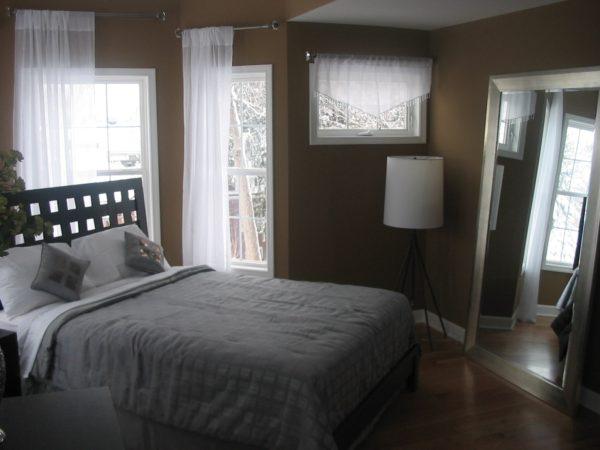 мебель в маленькой спальне