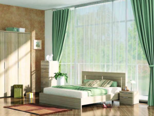 оформление интерьера спальни в скандинавском стиле