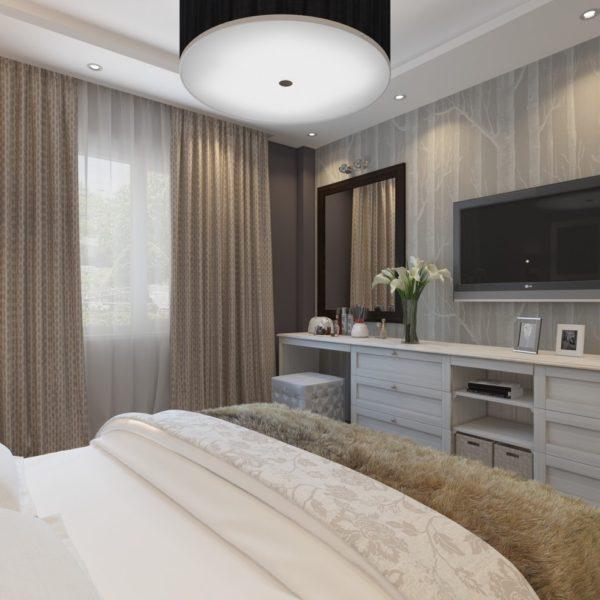 фото дизайна модной спальни