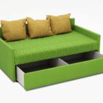 диван-кровать с ящиками для белья