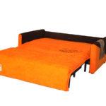 рыжий диван-кровать