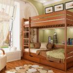 двухэтажная кровать для подростков