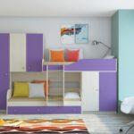 кровать-чердак для подростков