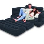 темно-синий диван