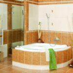 дизайн стиль ванна