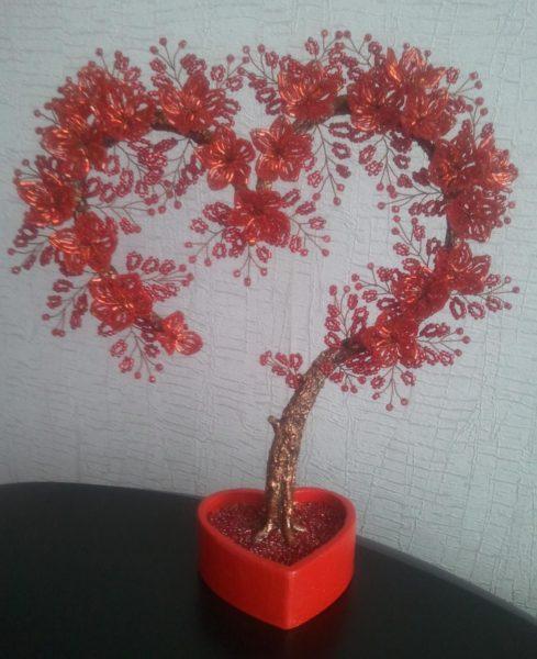 Деревце в честь любви