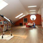 мансарда с телескопом