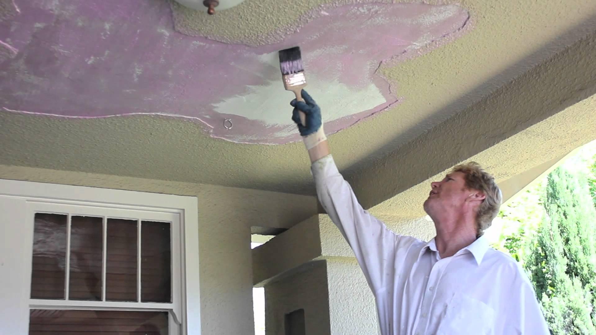 прикольных малярные способы декорирования потолка фото едва