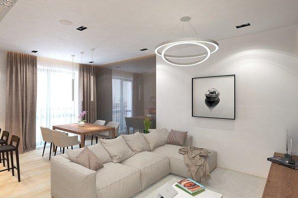 Какой дизайн лучше подойдет для крупногабаритной квартиры