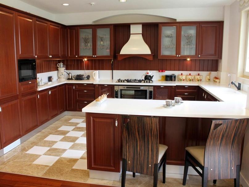 Типы кухонь в зависимости от используемой планировки