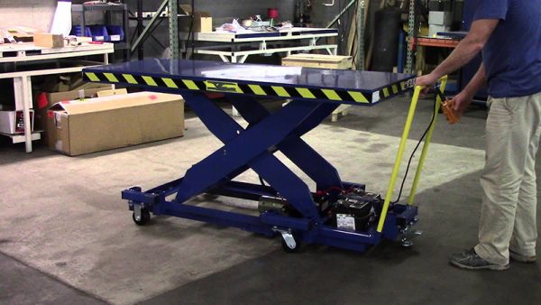 Гидравлический подъёмный стол