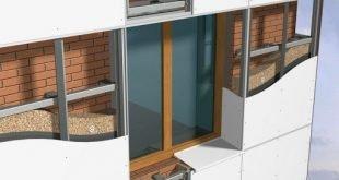 Свойства и особенности вентилируемых фасадов