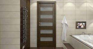 Межкомнатная дверь в ванную