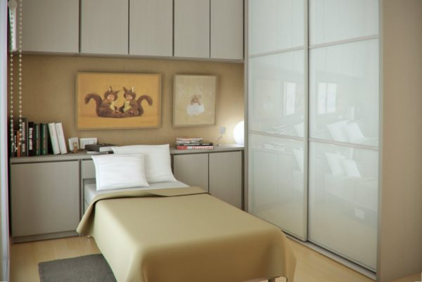 фото спальни для одного человека