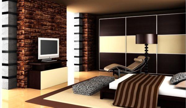 декорирование спальни в стиле хай-тек