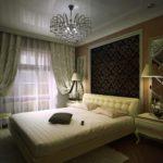 декорирование спальни в стиле модерн