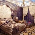 фото декорирования спальни в восточном стиле