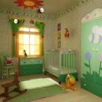 необычный дизайн детской спальни
