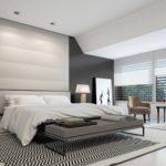 дизайн спальни в хай-тек