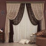дизайнерские портьеры для спальни