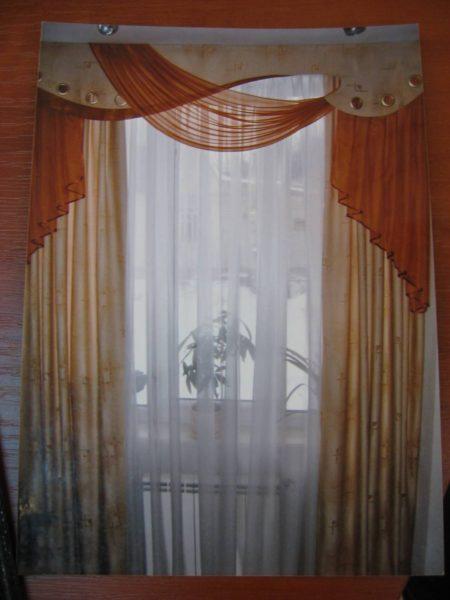 фото классических занавесок в спальню
