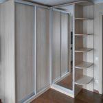 фото углового шкафа-купе для спальни