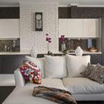 фото. современный стиль для комнаты с восточным декором