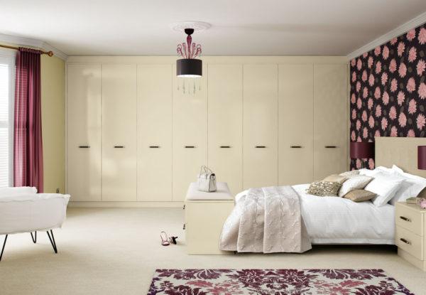 гардеробная в большой спальне