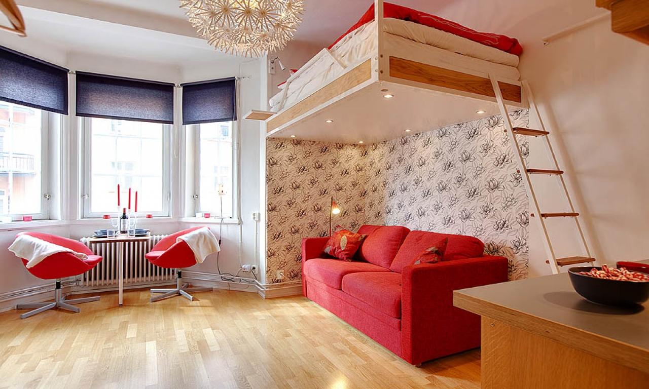 идеи для ремонта маленькой квартиры студии использовать
