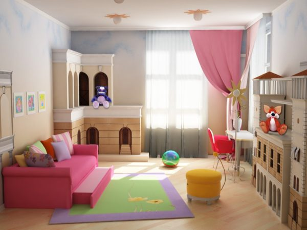 мебель в детской спальне