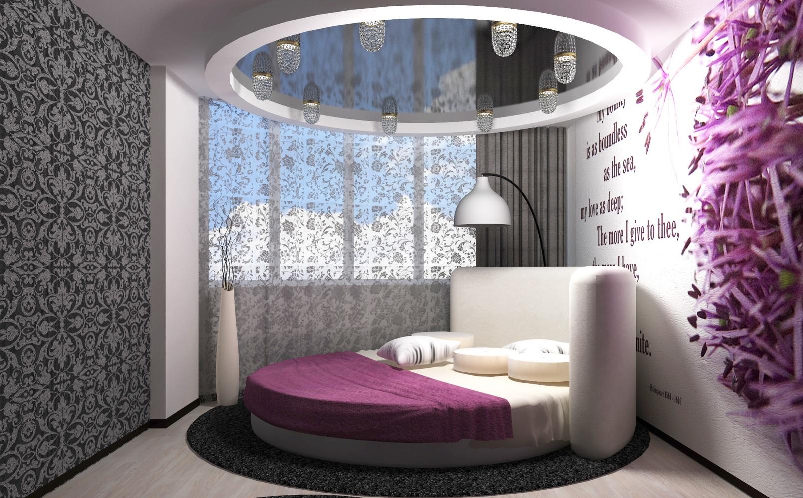 Интерьер и дизайн женской спальни