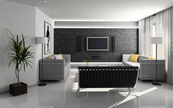 интерьер квартиры в хай-тек стиле