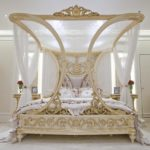 интересный дизайн спальни в стиле модерн