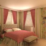 изящный стиль прованс в спальне