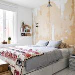 лаконичный дизайн спальни в скандинавском стиле