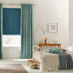 модное оформление штор в спальне