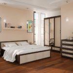 модульная система модерн для спальни