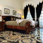 мраморная спальня после ремонта
