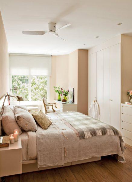 мебель в небольшой спальне