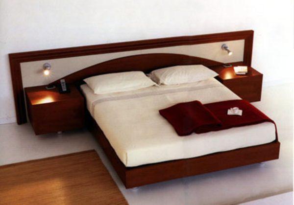 роскошный красивый дизайн прикроватной тумбы в спальне