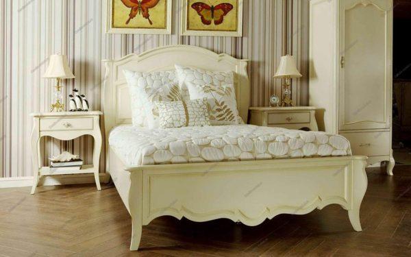 необычный стиль прованс в спальне