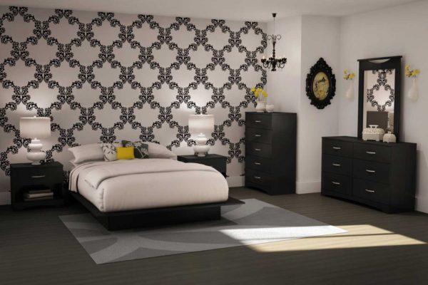 новая спальня в стиле модерн