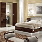новый интерьер спальни в стиле модерн