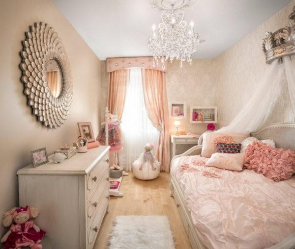 фото современного интерьера детской спальни