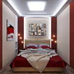 красивый дизайн комнаты маленькой спальни